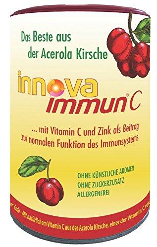 Innova Immun Vitamin C Kautaler aus der Acerolakirsche  Lecker Kautabletten für Unterwegs (Leckere Kautabletten)