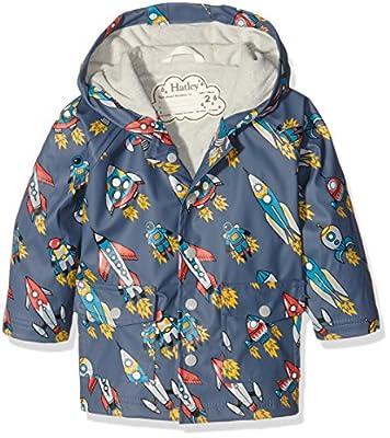 Hatley Boy's Retro Rockets Raincoat
