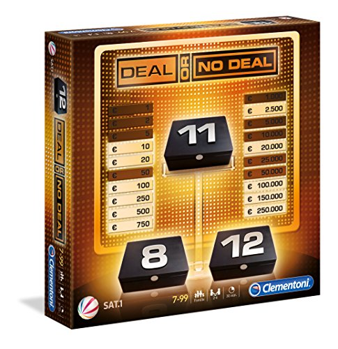 Clementoni 69380.1 - Brettspiel - Deal or no (Or No Deal Deal)