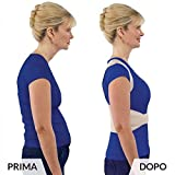 Corrector postural para sujetar los hombros, corregir la zona lumbar,...