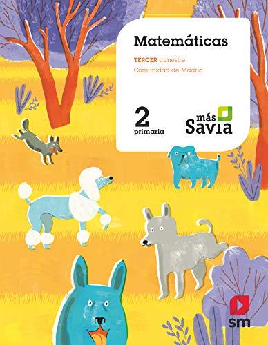 Matemáticas 2 Primaria Más Savia Madrid