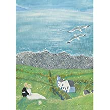 Amazon green pebble just perfect greeting card by valeriane leblond m4hsunfo
