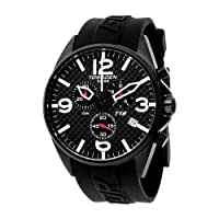 Reloj Torgeon T16302 de caballero de cuarzo con correa de plástico negra de Torgoen