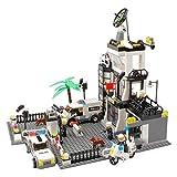 DYMAS Spielzeug Polizeistation Stadtverordnetenversammlung Kinder Puzzle-Bausteine