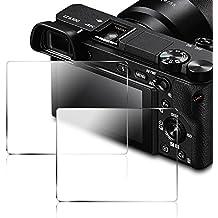 Screen Protector per Sony DSLR Alpha NEX-7 NEX-6 NEX-5 A6000 A6300 A5000 Camera, AFUNTA Anti-scrach Vetro Temperato Pellicola Protettiva (2 pezzi)