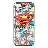 DC Comics–Superman–Effet 4D Comic Art Coque pour iPhone 5–Noir