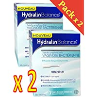 Hydralin Balance boite de 7 tubes à usage unique de 5ml - Lot de 2 Boites (2)