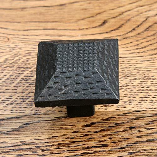 Knobs Cupboard, Door, Drawer, Cabinet,cast iron, Compatible for black, Kitchen (Cabinet Knob Inca 38mm no 25) - Black Iron Cabinet Knob