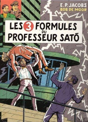 Blake et Mortimer (Les aventures de) - tome 12 : Les formules du Professeur Sato tome 2 [Dossier de presse]