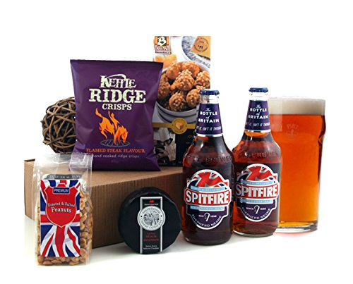 Beer Gifts for Men - Spitfire Beer Gift Box Selection Available for Next Day Delivery - Ideal Gift for Birthday or Father's Day Beer Hamper