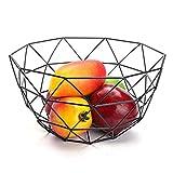 Corbeille à Fruits en métal décoratif Panier en métal pour Fruits et légumes Northern Europe Innovative Iron Art Fruit Storage Basket Fruit Bowl Paniers de Stockage Creux Panier de Fruits
