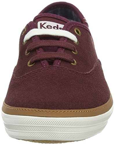 Keds Wh556, Sneakers Basses Femme Rouge (Burgundy)