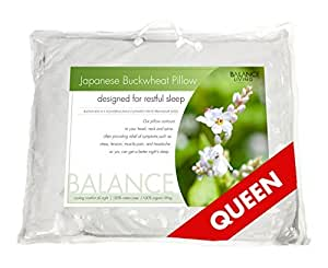 Balance Living Queen Size 51cm X 76cm Japanese Buckwheat