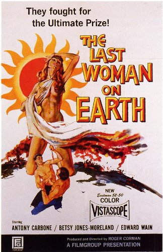 The Last Woman on Earth Plakat Movie Poster (27 x 40 Inches - 69cm x 102cm) (1960)