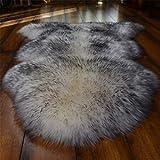 DSCTT Teppich Einfache Art und Weise Verdickung Nachahmung Wolle Teppich Wohnzimmer Schlafzimmer Nacht Fenster Couchtisch Drehstuhl Unter dem Boden Rattan Stuhl Kissen Teppich