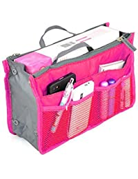 Home Hacks MultiPocket Make Up Organizer, Toiletry Bag, Organizer Pouch(Assorted Colours)