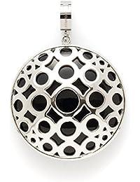 Leonardo Jewels Damen Anhänger Darlin's Edelstahl silber groß Maxi-Clip