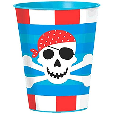 Amscan Cup Party Pirate Treasure Party Accessory