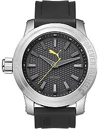 Puma Time Herren-Armbanduhr Impulse Analog Quarz Plastik PU103991003