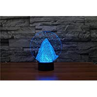 Vision Light creativo 3D arte acrilica luce