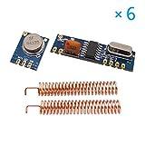 zreal 433MHz 100Meter Fragen Module Kit RF stx882Sender srx882Empfänger Antenne Set