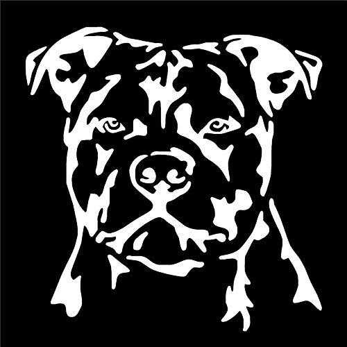haotong11 14,1 * 13,7 cm Auto Styling spaß Hund Portrait Fenster Dekoration Applique Klassische Mode Auto Aufkleber 5 stücke -