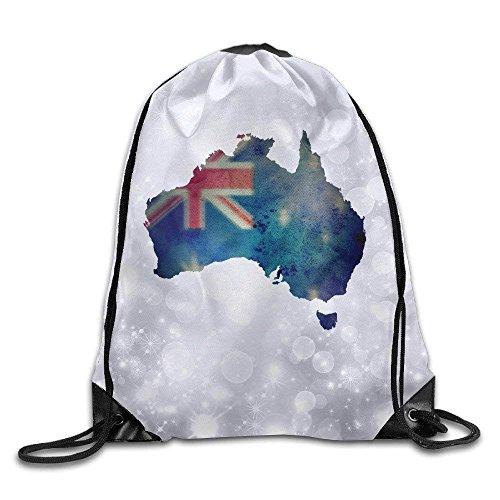 Palm Costa Rica (ZHIZIQIU Olympic Games Rio 2016 Pura Vida Costa Rica Gym Drawstring Backpack Bag White 47)