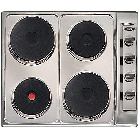 Teka E/60.2 4P - Placa (Integrado, Eléctrico, Plata, 0,85m, 5500W, 230V)