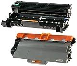 Toner TN3380 mit Trommel DR3300 für Brother DCP-8110DN DCP-8250DN HL-5440D HL-5450D HL-5450DN HL-5450DNT HL-5470DW HL-5480DW HL-6180DW HL-6180DWT MFC-8510DN MFC-8520DN MFC-8950DW MFC-8950DWT - Schwarz, hohe Kapazität