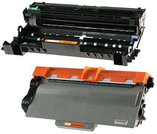Toner TN3380 mit Trommel DR3300 kompatibel für Brother HL-5440D HL-5450DN HL-5470DW HL-6180DW MFC-8510DN MFC-8520DN MFC-8950DW MFC-8950DWT DCP-8110DN DCP-8250 - Schwarz, hohe Kapazität