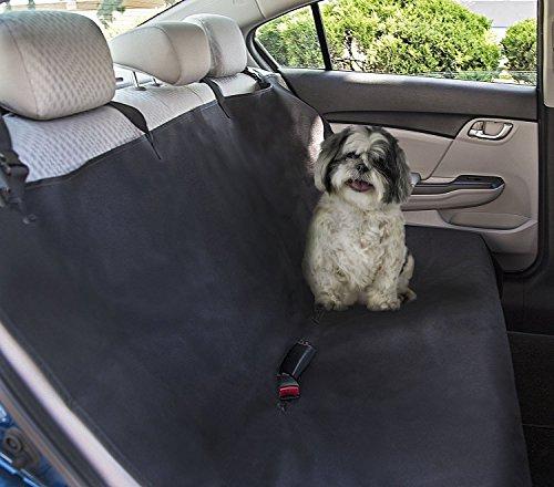 Hilai Wasserdicht Hund Sitzbezüge, waschbar Travel Autositz Cover–Hund Hängematte Auto Sitzbank Bezug hinten Sitz Displayschutzfolie für Haustiere 119,4x 142,2cm