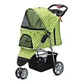 Ludage Stable pet stroller Tricycle pet Car One key Guanche quick Install foldable
