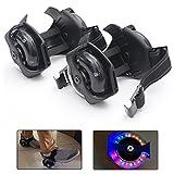 Flash Rollers - Rollers lumineux - Patins à roulettes avec flash de couleurs - Diodes puissantes - Adaptés à toutes les chaussures