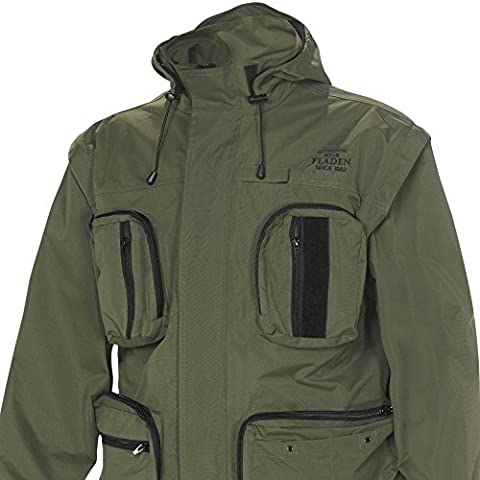 FLADEN Authentic Wear Fully Waterproof and Windproof Outdoor Utility Jacket