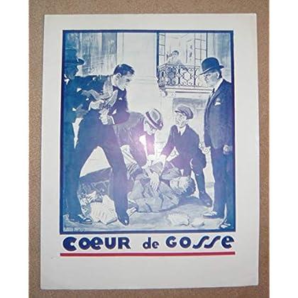 Dossier de presse de Cœur de Gosse (1930) - 22x28 cm, 4 p - Film muet avec C Bow, W Mc Donald & le petit Pat Moore – Photos N&B - résumé scénario – Bon état.