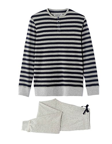 Celio Herren Sportswear-Set Gipyray Grau