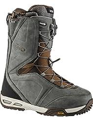 Nitro Snowboards botas de team TLS Snowboard señorías 15, Unisex, - grey / orange