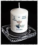 Erstkommunion Persönlicher Kerze Geschenk mit Namen & Datum