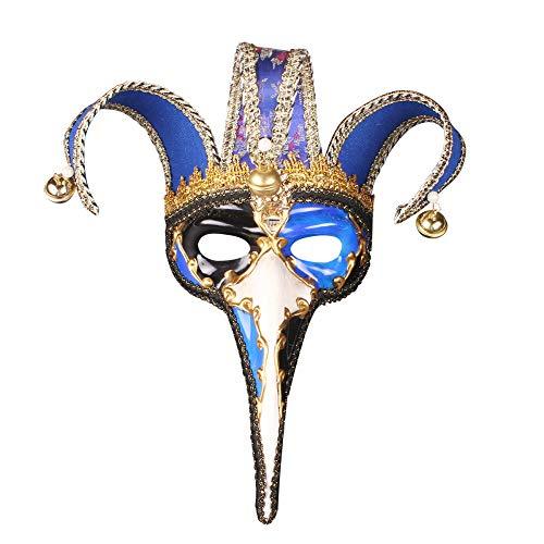 TUWEN Halloween Maske Weihnachten Make-up kleine Lange Nase kreative Maske Venedig Halloween Party Maske
