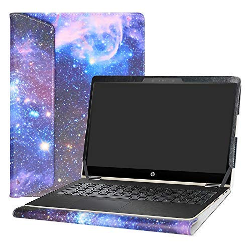 Alapmk Diseñado Especialmente La Funda Protectora de Cuero de PU para 13.3' HP Envy X360 13 13-agXXXX 13m-agXXXX Series Ordenador portátil (No Compatible con: Envy X360 13 13-yXXX Series),Galaxy