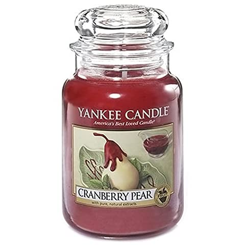Yankee Candle Cranberry Pear Large Jar (New Limited Edition for Autumn 2014) by KitchenCentre
