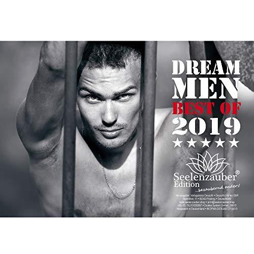 Dream Men 2019 · Premium Kalender 2019 · DIN A5 · Erotik · Männer · Man · Men · Hero · Shades of Sex · Geschenk-Set mit 1 Grußkarte und 1 Weihnachtskarte · Edition Seelenzauber