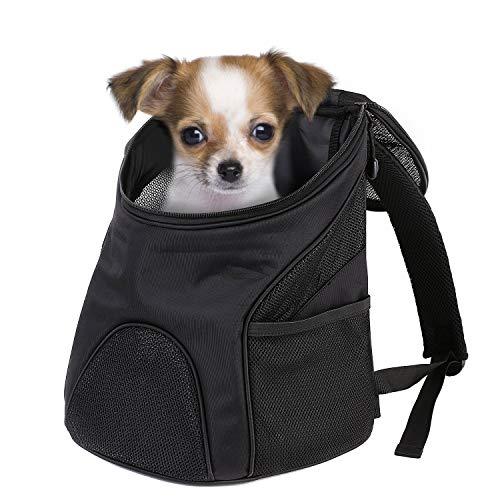 Pedy Hunderucksack Katze Tragetasche,44×37×32cm,Stoff Faltbarer Haustier-Reise-Rucksack für kleinen Haustiere wie Hunde,Welpen, Katzen in Outdoor-Reise Wandern(Groß)
