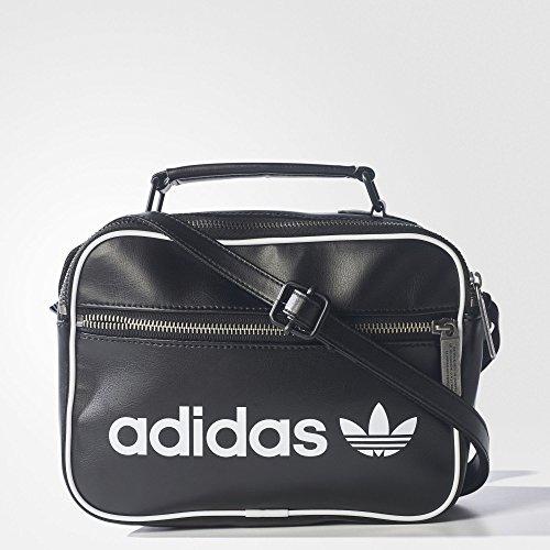1854dc6d71 adidas Mini Vintage Airliner Bag - Black, 8 x 17 x 23 cm