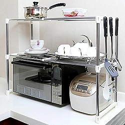Étagère de rangement pratique pour four à micro-ondes, étagère de cuisine, four à micro-ondes, étagère de rangement pour camion, station de travail