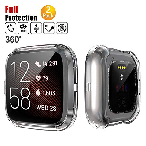 Chok Idea Full Cobertura Funda Compatible with Fitbit