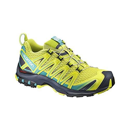 Salomon Xa Pro 3d W, Chaussures de Trail Femme Sulphur Sp/Ceramic/Omb