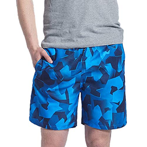 UJUNAOR Männer Sporthose Strandhose Kurz Hose Drawstring Shorts Sommer Badeshorts Urlaub Freizeithose(A,EU 46/CN M)