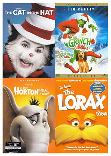 Cat in the Hat / The Grinch Stole Christmas / Horton Hears A Who ! / The Lorax) ()