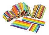 300tlg. Hölzer-Set Stäbchen farbig Bastelstäbe VBS Großhandelspackung